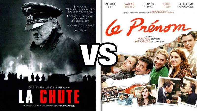 La Chute vs Le Prénom